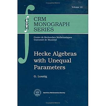 Algebre di Hecke con parametri disuguali