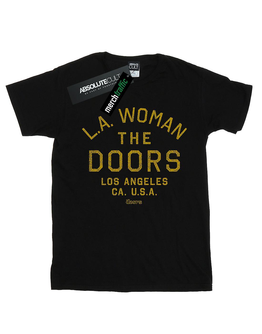 The Doors Men's LA Woman Text T-Shirt