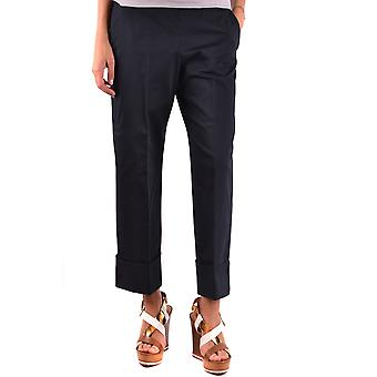 Fay Ezbc035020 Women's Black Cotton Pants