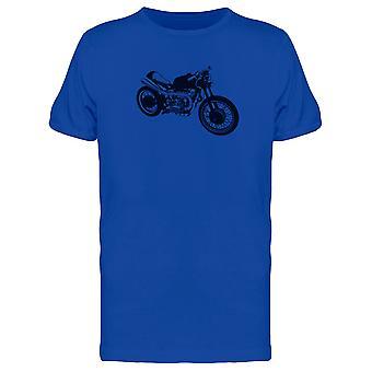 دراجة نارية خمر صورة ظلية المحملة الرجال-الصورة عن طريق Shutterstock