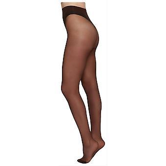 SWE-S Elin Premium 20 Denier Tights - Dark Nude