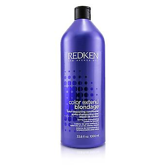 Redken Color Extend Blondage Color-depositing Conditioner (para Rubias) - 1000ml/33.8oz