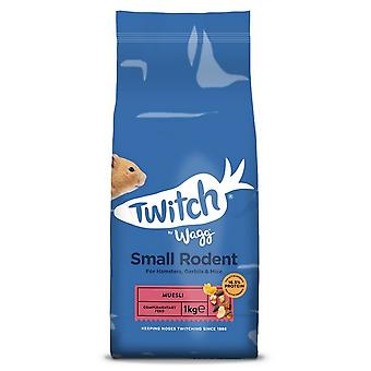 Twitch di Wagg piccolo roditore muesli Pet Food