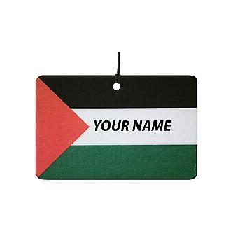 Palestine Flag Custom Car Air Freshener