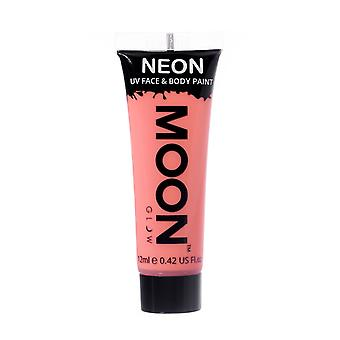 Moon Glow - 12ml Neon UV Face & Body Paint - Pastel Coral