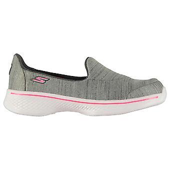 Skechers Kids Junior Sports Shoes Trainers Sneakers Pumps Go Walk 4