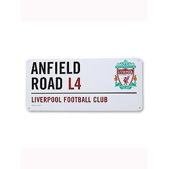 Liverpool FC ' Anfield Road ' Street Logg