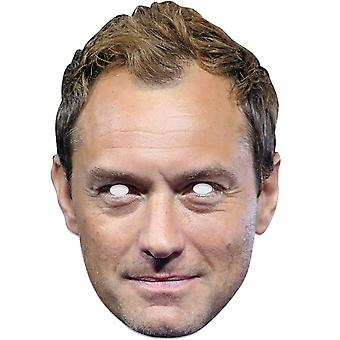 Jude Law Single 2D Card Party Fancy Dress Mask