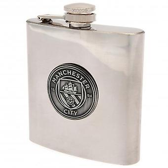 Manchester City Hip Flask