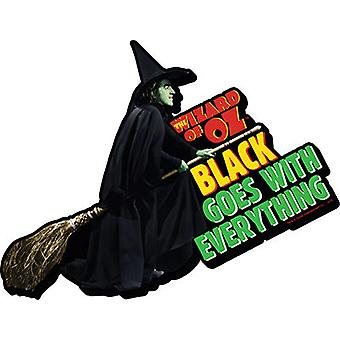 Magnet - Wizard of Oz - Witch Black Gifts Toys Licensed 95327