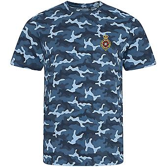 Royal Fusiliers - Licensed British Army Embroidered Camouflage Print T-Shirt