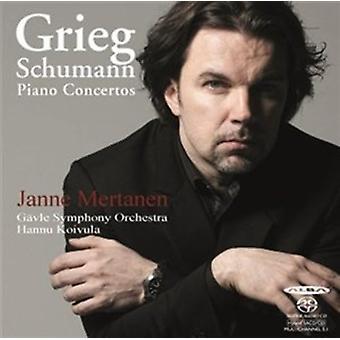 Grieg / Schumann / Mertanen - Piano Concertos [SACD] USA import