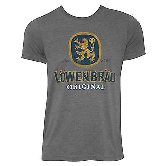 Lowenbrau Logo Grey Tee Shirt