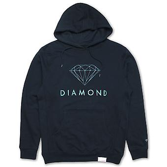 Diamond Supply Co. Futura signe Hoodie Navy