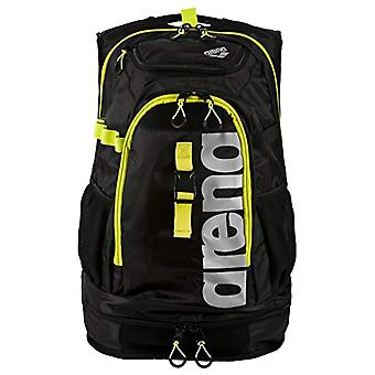 Arena Fastpack 2.1 Sac à dos - Adult Unisex - Black (Black-Fluo Yellow-Silver) - One Size