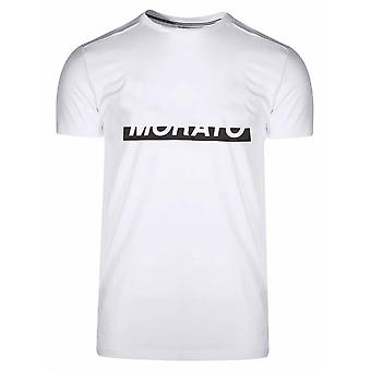 Antony Morato Sport White Raised Logo T-Shirt