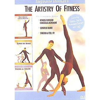 Artistry of Fitness Series [DVD] USA import