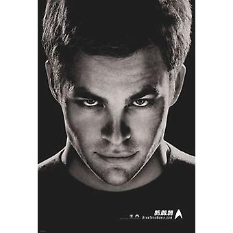 Star Trek (Double Sided) (Kirk Advance) Original Cinema Poster