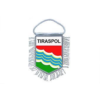 Flag Mini Flag Country Car Decoration Souvenir Blason Tiraspol Moldova