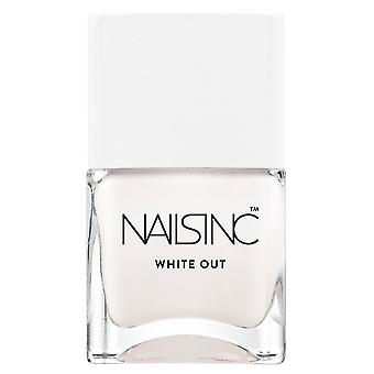Nails inc Bright Ambition Collection - White Out (09239) 14ml