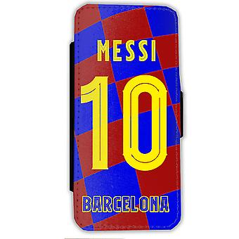 Messi Barcelona Sweater iPhone 7/8 wallet case Case shell