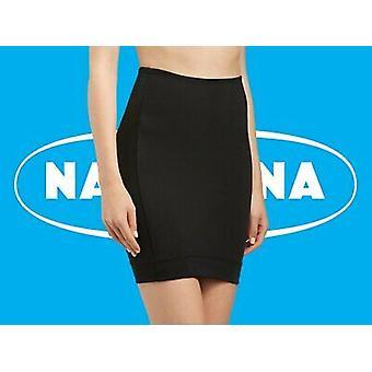Naturana lingeri [Storbritannien størrelse 20] Cybele kvinders 3XL sort lycra shapewear