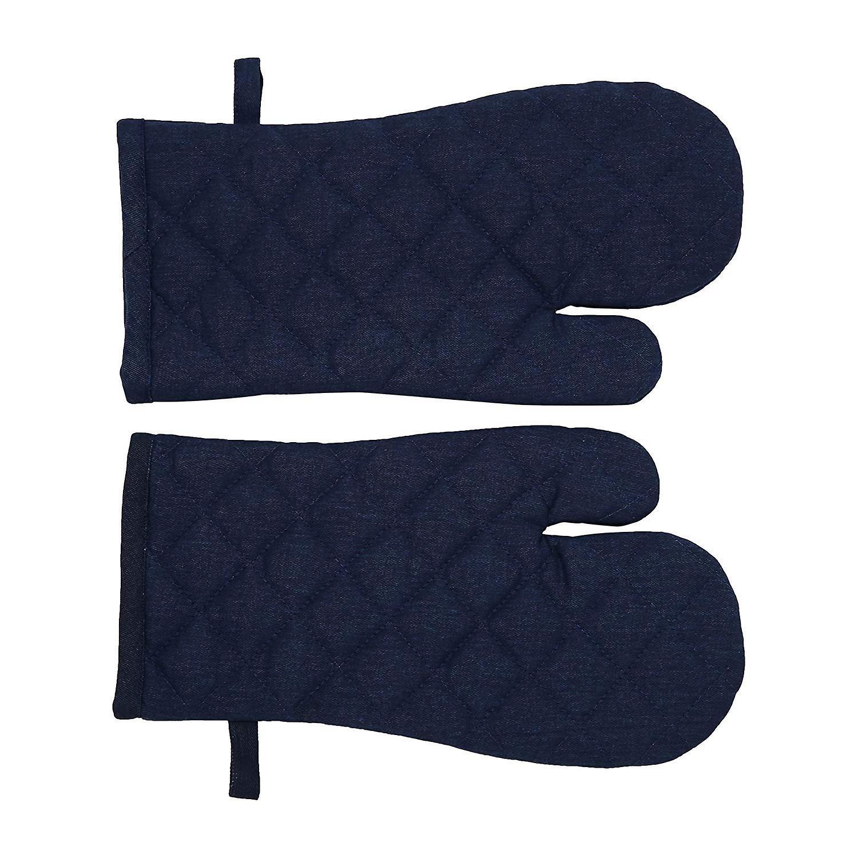 Penguin Home Plain S/2 Gauntlets, Cotton, 2pc Set