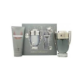Paco Rabanne Invictus Gift Set 50ml EDT + 100ml All Over Shampoo
