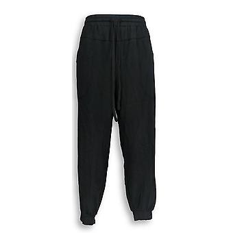 Anybody Women's Petite Pants Cozy Knit Black A349794