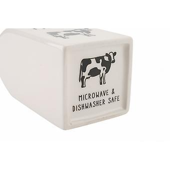 CGB Giftware Ceramic Cow Milk Jug