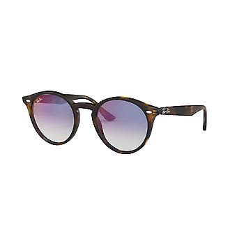 Ray-Ban RB2180 710/X0 Havana/Gradient Blue Mirror Red Sunglasses