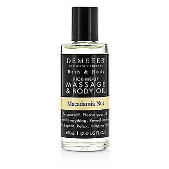 Demeter Macadamia Nut Massage & Body Oil 60ml/2oz