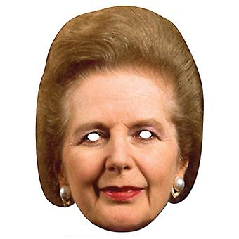 Margaret Thatcher De Iron Lady Card Party Fancy Dress Mask