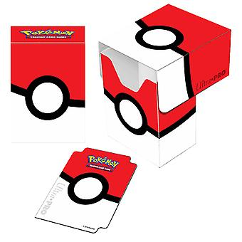 Pokemon-Pokeball Deck Box-Ultra Pro card cards