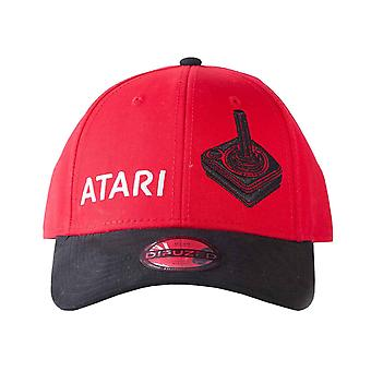 Atari Baseball Cap Classic Logo And Joystick new Official Red Strapback