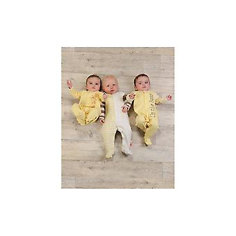 The Essential One Baby Unisex Mummy Loves Me Sleepsuits - 3 Pack
