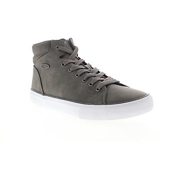 Lugz King LX  Mens Gray High Top Lace Up Lifestyle Sneakers Shoes