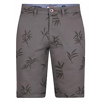 DUKE Duke geprinte stretchshorts