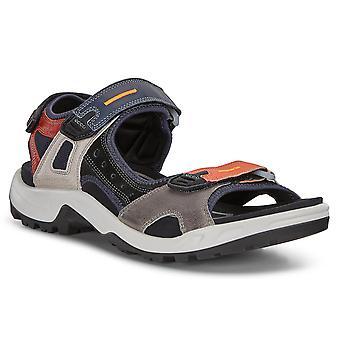 Ecco Mens 2020 Offroad M Yak læder justerbar støbt footbed sandaler