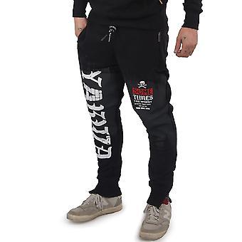 YAKUZA Men's Jogging Pants Bricks Zip