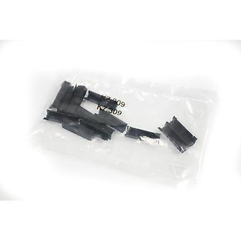 Black Plastic Clips for extra safety security fitting Wind Deflectors (14 pc)