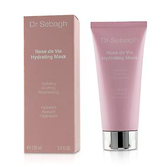 Rose de vie hydrating mask 100ml/3.4oz