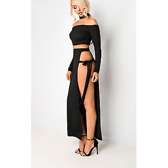 IKRUSH Womens Tasha Cut Out Co-ord