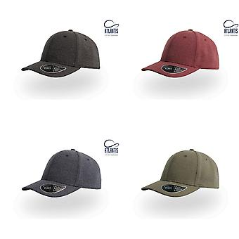 Atlantis Loop Mid Visor Rayon Blend 6 Panel Cap