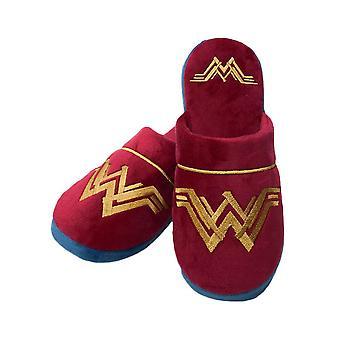 DC Comics Wonder Woman Movie logo mule pantoufles