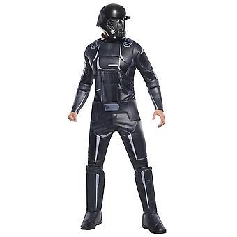 Star Wars Miesten Rogue Yksi Deluxe Death Trooper Puku