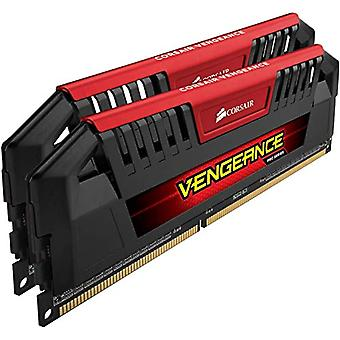 Corsair CMY16GX3M2A1600C9R Vengeance Pro Series 16 GB High Performance Desktop Memory (2x8 GB), DDR3, 1600 MHz, CL9, with XMP Support, Red