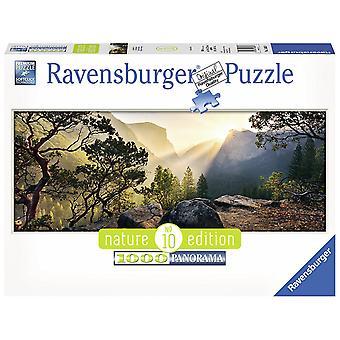 Ravensburger Yosemite Park Panoramic 1000pc Jigsaw Puzzle
