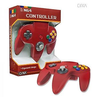 Nintendo 64 N64 Cirka Controller (Red)