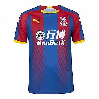 2019-2020クリスタルパレスプーマホームフットボールシャツ